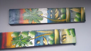 2 canvas pictures from Dominican