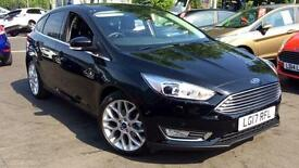 2017 Ford Focus 1.0 EcoBoost 125 Titanium X 5d Manual Petrol Hatchback