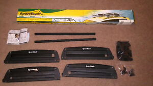 SportRack SR6453 Locking Roof Ski and Snowboard Carrier Rack