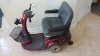 Mobility Scooter never used outside