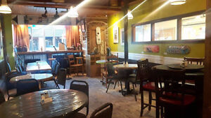 Licensed Cafe For Sale in Downtown Truro