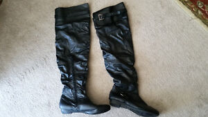 STEPPS LADIES OVER THE KNEE BOOTS