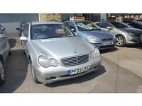 Mercedes-Benz C180 Kompressor 1.8 auto Elegance SE ESTATE -2003 03-REG -FULL MOT