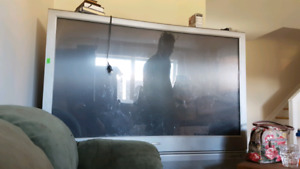 50inch rear projection tv with remote
