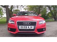 Audi A4 Avant 2.0 TDI S LINE AVANT Good / Bad Credit Car Finance (red) 2009