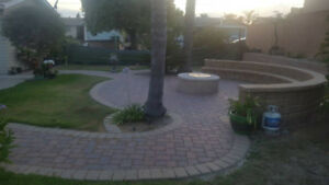 Bradford, On Interlocking paving patio...free estimate by Amigos