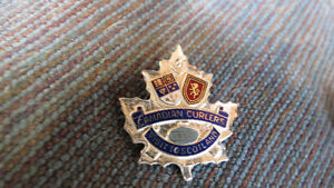 Canadian Curlers pin 1950