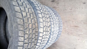 For sale 4 studded winter tires