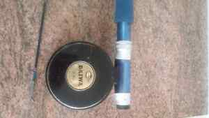 Ligne a Peche Canne Moulinet Mouche Rod Reel Fly Fishing