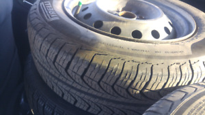 2 sets Pirelli  rims and tires 175/65r14