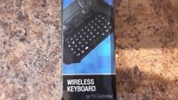 PS4 wireless keypad