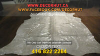 We Only Carry Top Quality Brazilian Cowhide Rugs