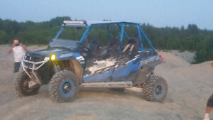2013 rzr 900 xp jagged x 4 seater mint