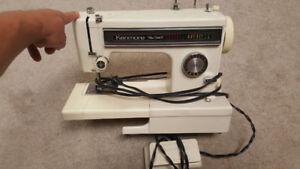 Kenmore Sewing Machine Ultra-Stitch 1016 operation