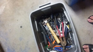 Container of tools