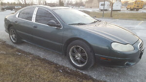 2004 Chrysler Concorde Limited Sunroof