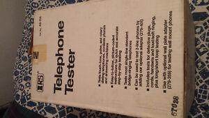 Telephone tester