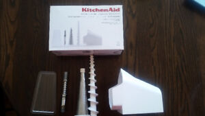 Kitchenaid Fruit and Vegetable strainer and meat grinder attachm