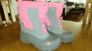Bottes d'hiver North Face gr. 2 / Winter boots