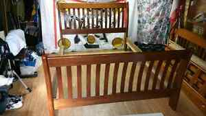 Queen Bedroom set (bed, and 2 side tables)  Peterborough Peterborough Area image 2