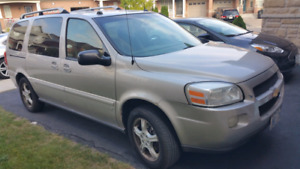 2006 Chevy Uplander Extended   Only 145,000kms!