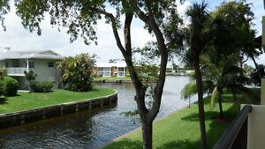 CONDO A LOUER BORD DU CANAL - POMPANO - FLORIDE HIVER 2017-2018
