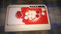 Qanba Q4 White/Red Fight Stick for PC, Xbox360, PS3 & PS4(USF4)