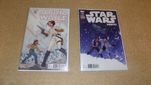 STAR WARS ANNUAL #2 & 3, VARIANT COVER, MARVEL COMICS, NM