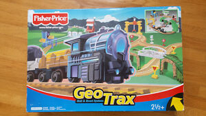 Fisher Price Geo Trax 2 COMPLETE  Train sets for more fun