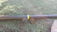 2 fly rods with reels and case