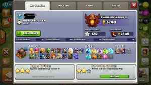 Clash of clans MAX TH10 Cornwall Ontario image 2