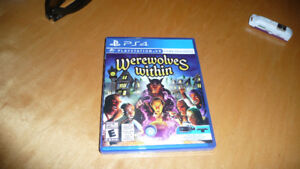 VR PS4 Werewolves Within Game  Played only once or twice