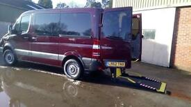 2012 Mercedes Sprinter SWB AUTOMATIC Disabled Drive From Wheelchair Accessible