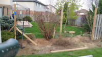 Have a Leaning Fence?? we offer Post and fence repairs