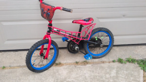 Huffy  spiderman bike
