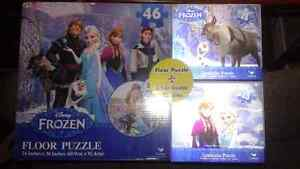 Disney's Frozen Collection and new three pack puzzles