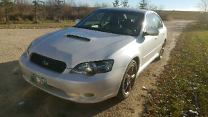 REDUCED 2005 Subaru legacy gt limited SAFETIED