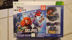 Disney Infinity Starter Pack for Xbox 360, New, Brave and Stitch