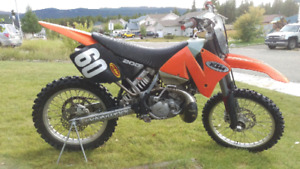 Immaculate KTM MXC 200