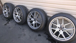 Mags fast wheel avec Michelin pilot AS/3+, 225-45-19