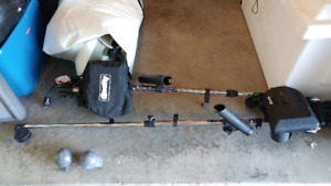 2 -  Scotty Telescoping Electric Downriggers (Campbell River)