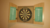 Red Lion Dart Board & Cabinet