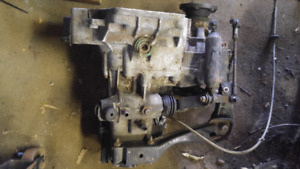 VW 5 speed transmission