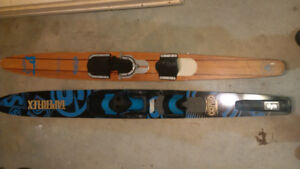 2 Waterski's - one newer and one vintage - SALOM