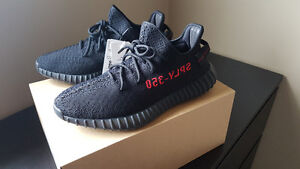 Adidas Yeezy Boost 350 V2 BRED Size 9.5 DS 100% Authentic