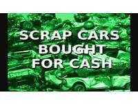 WANTED SCRAP CARS VANS B