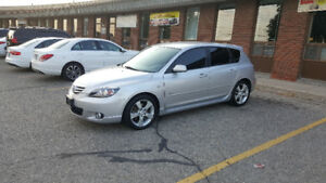 2004 Mazda 3 GT!! LOW KM FINANCING AVAILABLE ANY CREDIT !!