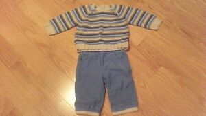 Baby Boy Matching Outfit Size 3-6 Months