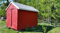 Big Red back yard Storage Shed for tools or garden