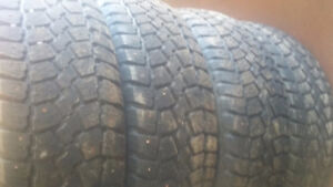 4X 195/65R15 studed